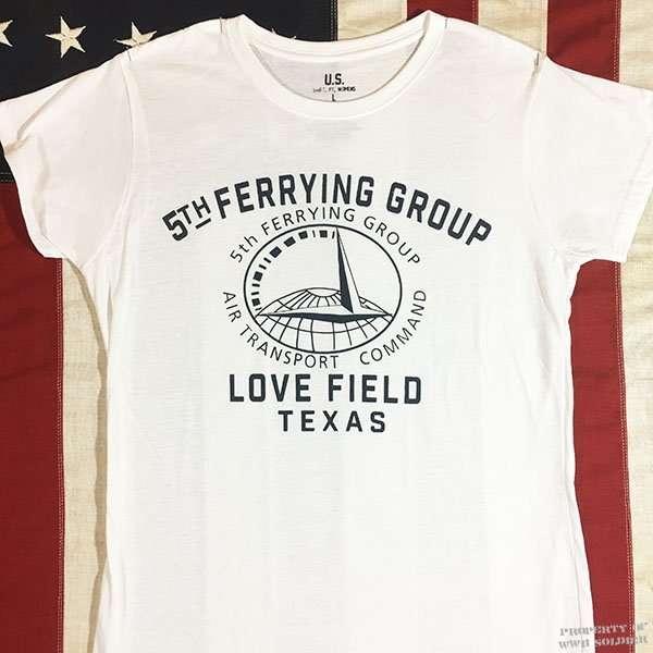 WWII WASP T Shirt, 5th Ferrying Group ATC, Women's WAFS