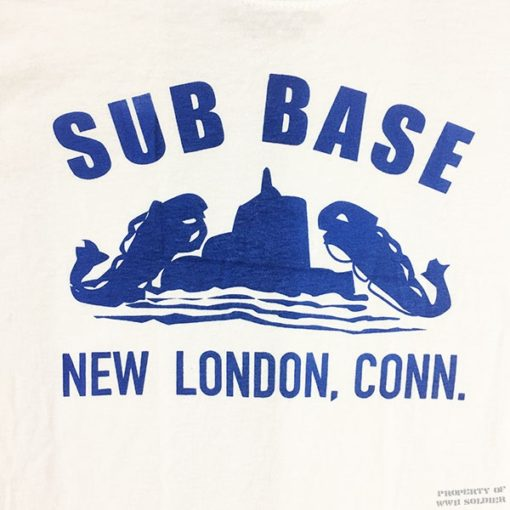 WWII Sub Base T shirt, WW2 New London Connecticut reproduction