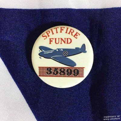 WWII Spitfire Fund Pin, WW2