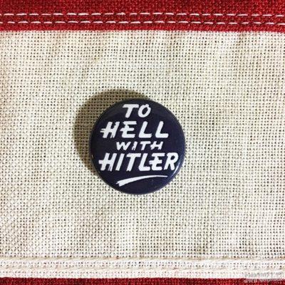 WWII Hitler Pin, WW2