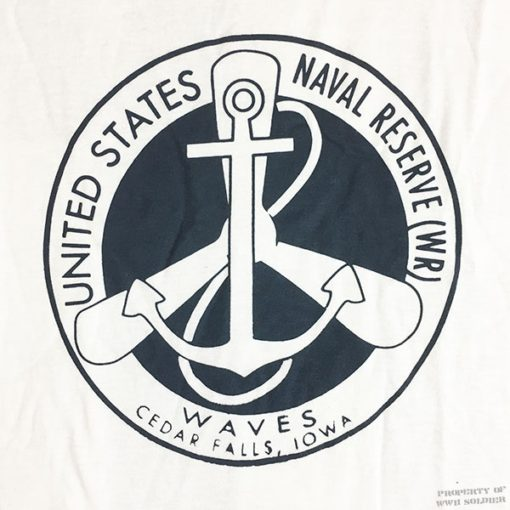 WWII WAVES Navel Reserve T Shirt, WW2
