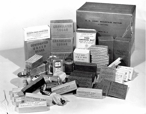 Ww2 Rations Wwii Soldier