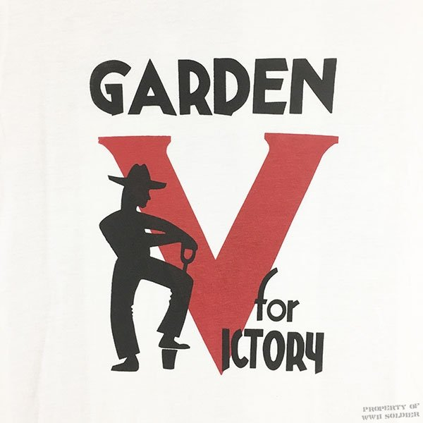 Wwii victory garden t shirt reproduction wwii soldier for Garden t shirt designs