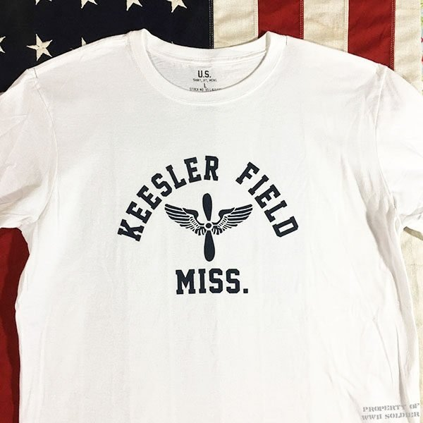WWII Kessler Field T Shirt, AAF Men's Reproduction