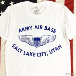 WWII Salt Lake City T Shirt, WW2 AAF
