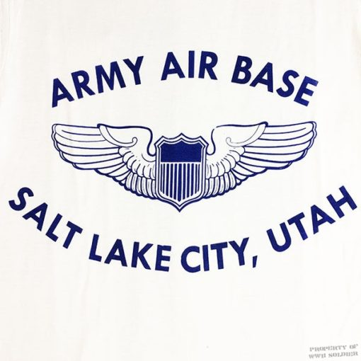 WWII Salt Lake City T Shirt, WW2 AAF USAAF