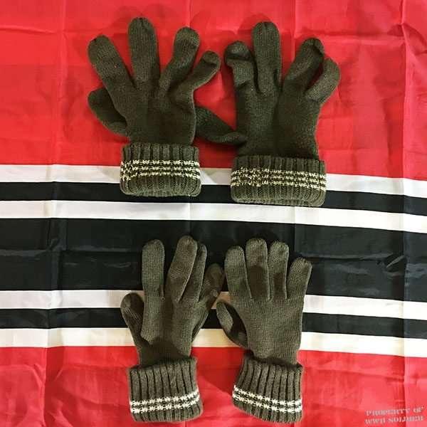 WWII German Wool Gloves ww2