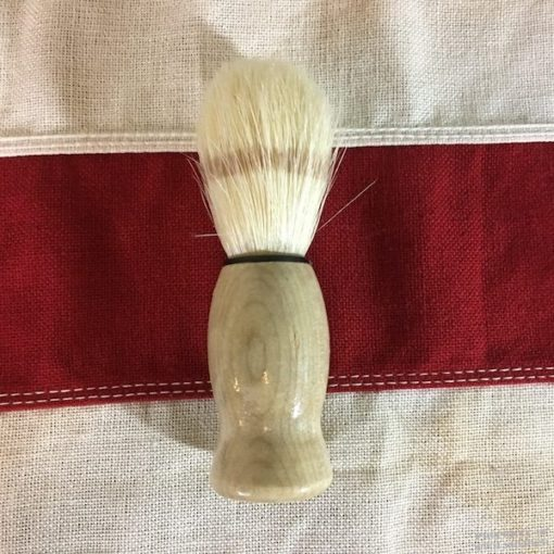 Shaving Brush Wood Handle ww2