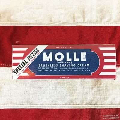 WWII Molle Shaving Cream Box