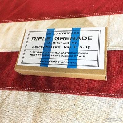 WWII Rifle Grenade Cartridge Box