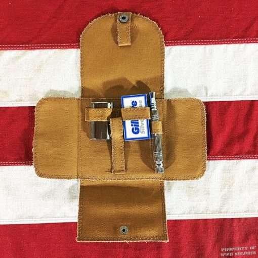 WWII Shaving Kit Auto Strop Pattern, ww2