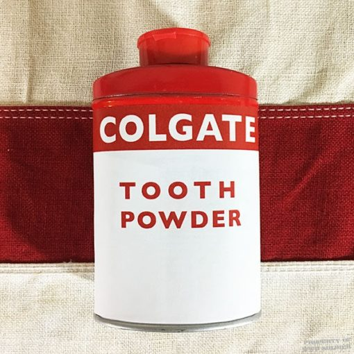 WWII Colgate Tooth Powder reproduction, ww2