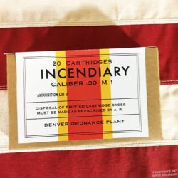 WWII Incendiary Cartridge Box, ww2 reproduction