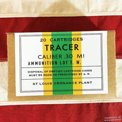 WWII Tracer Cartridge Box, ww2 reproduction