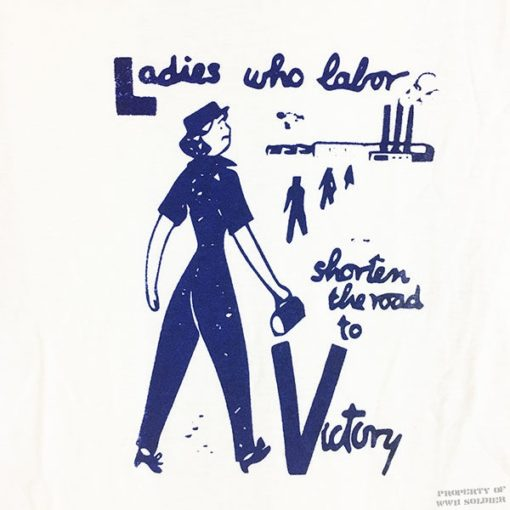 WWII War worker t shirt, ww2 factory worker Rosie the riveter