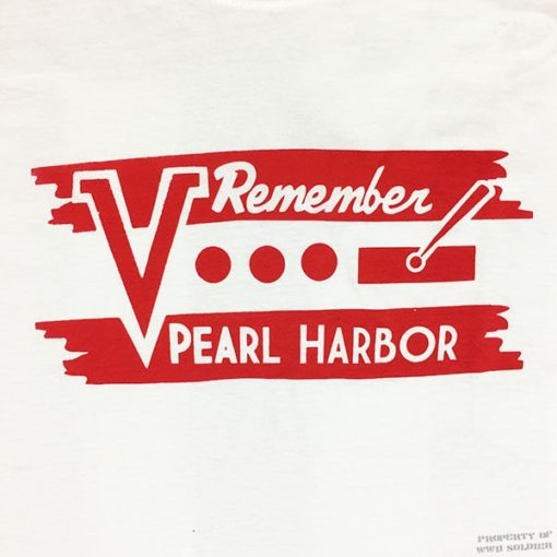 WWII Remember Pearl Harbor T Shirt Design