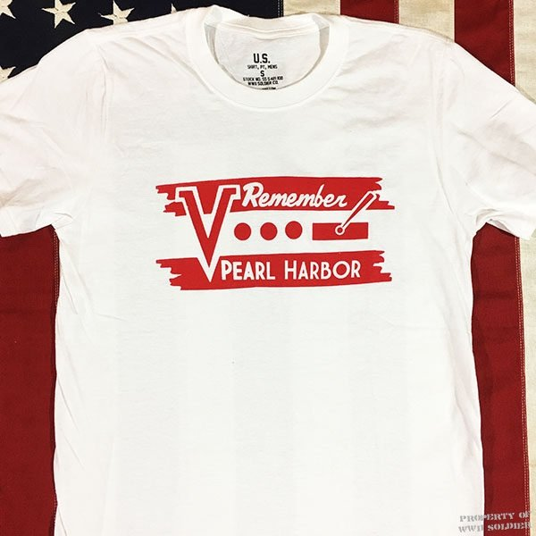 WWII Remember Pearl Harbor T Shirt Reproduction, ww2