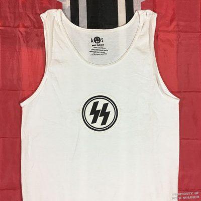 SS sport shirt sewn emblem wii ww2 reproduction