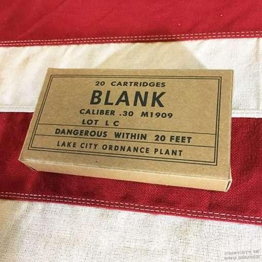 WWII Blank Cartridge Ammo Box, ww2