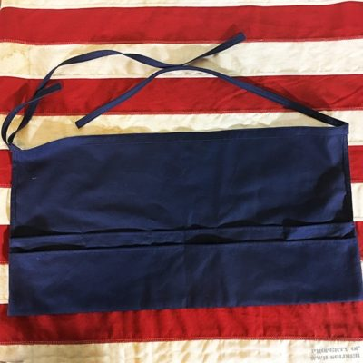 Navy Toiletry Apron Roll, WWII WW2