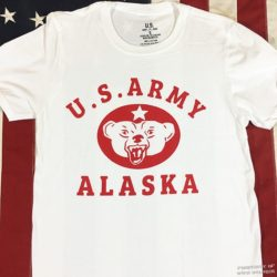 WWII US Army Alaska T Shirt, ww2