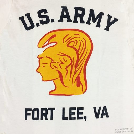 WAC Fort Lee T Shirt Design, WW2