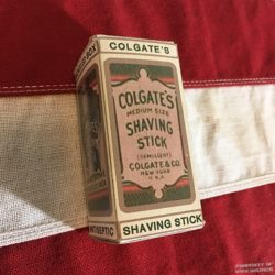 WWI Colgate Shaving Stick Reproduction, WW1