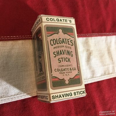 WWI Colgate Shaving Stick Reproduction, WW1