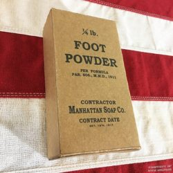 WWI Foot Powder, WW1 reproduction
