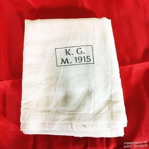 WWI German Towel Reproduction, WW1