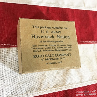 WWI Haversack Ration Box Reproduction, WW1
