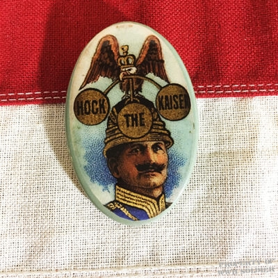 WWI Hock the Kaiser Pin WW1