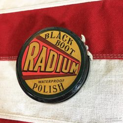 WWI Radium Shoe Polish, WW1 Boot Black