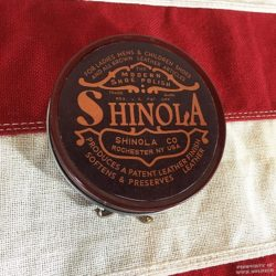 WWI Shinola Shoe Polish