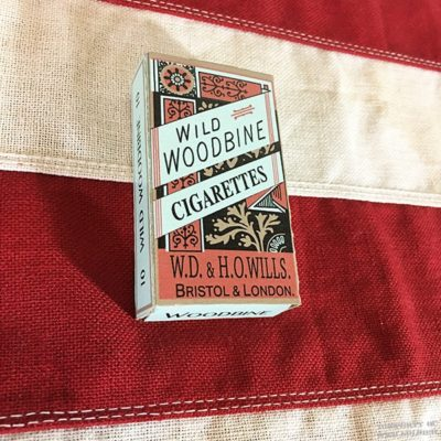 WWI Woodbine Cigarettes, WW1 Reproduction