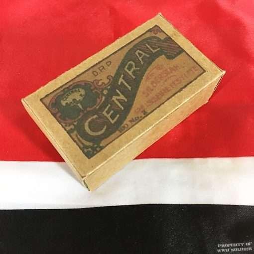WWII German Thumb Tacks Box, WW2 reproduction