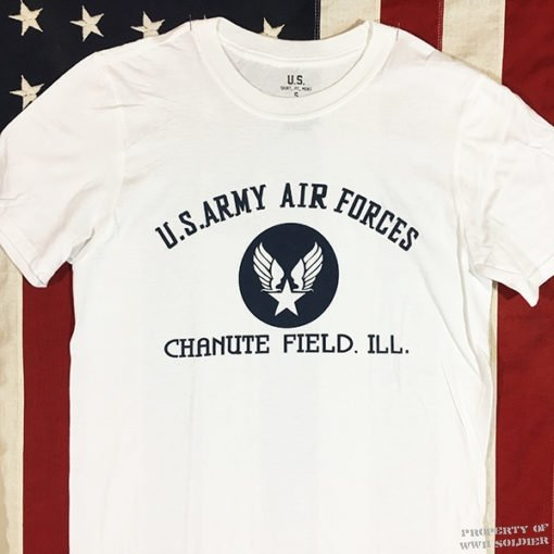 WWII AAF Chanute Field Illinois T shirt, WW2