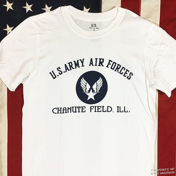 WWII AAF Chanute Field Illinois T Shirt reproduction