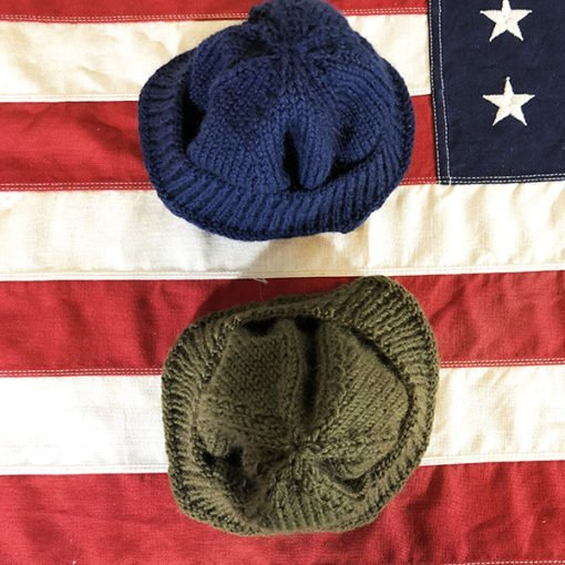 WWII Knit for Defense Watch Cap