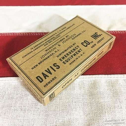 WWII Ammonia Inhalant Box