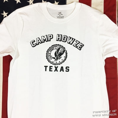 WWII Camp Howze Texas T Shirt reproduction Rail Splitters WW2