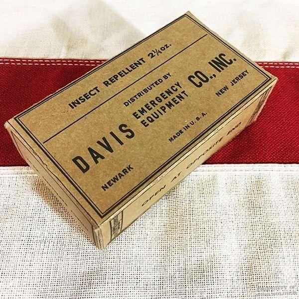 WWII Insect Repellant Box WW2