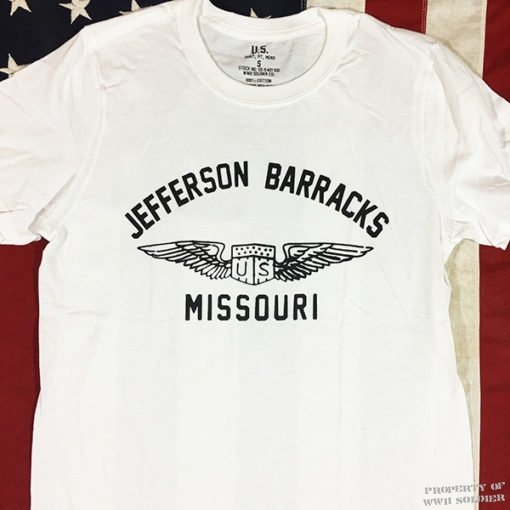 WWII Jefferson Barracks Missouri T Shirt WW2