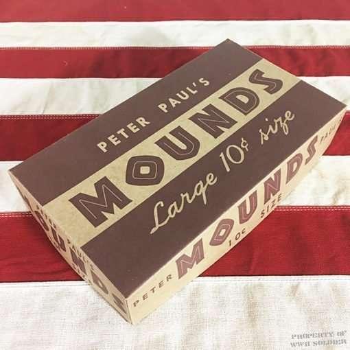 WWII Mounds Chocolate Box WW2