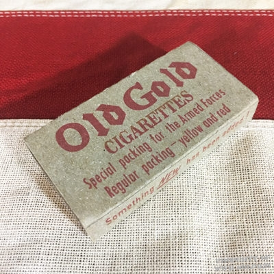 WWII Old Gold Cigarette K Ration Pack WW2