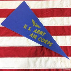 WWII US Army Air Corps Pennant, WW@