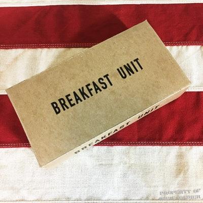 WWII Breakfast Inner K Ration Box Reproduction, WW2