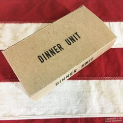 WWII Dinner Inner K Ration Box Reproduction WWII