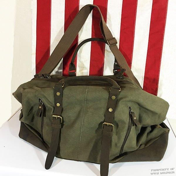 WWII Furlough Bag, WW2