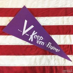 WWII Keep Em Flying Pennant